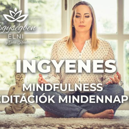 [INGYENES] Mindfulness Meditációk Mindennapra