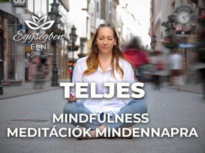Mindfulness Meditációk Mindennapra